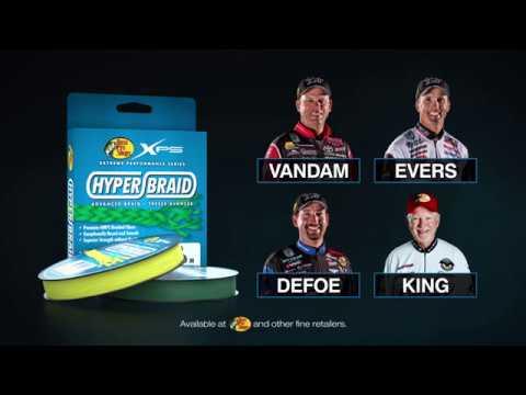 XPS Hyper Braid Line Product Video   Bass Pro Shops
