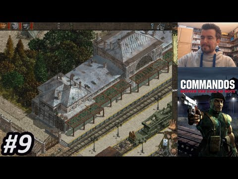 COMMANDOS: BEYOND THE CALL OF DUTY (PC) - Episodio 9    Gameplay en Español