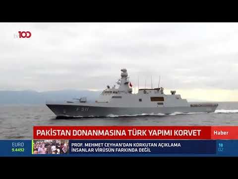 Pakistan Donanması'na Türk yapımı Korvet!
