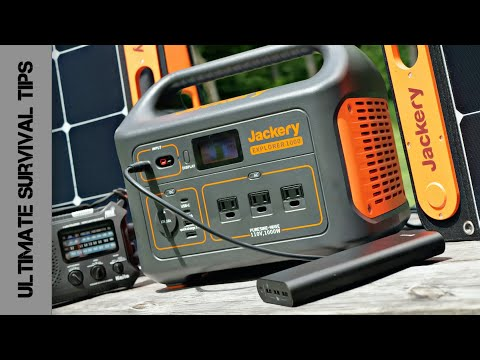 Jackery Explorer 1000: Off-Grid Mini Solar Power System REVIEW - Camping / Emergency / Bug Out Power