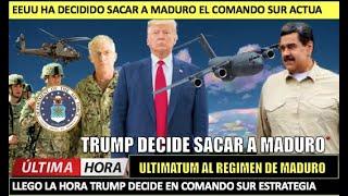 EEUU decide sacar a Maduro Trump al Comando Sur toma acciones