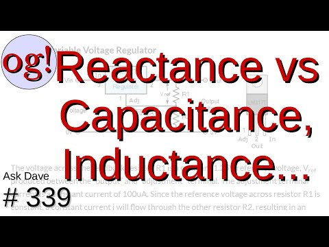 Reacting to Capacitance, Inductance, Resistance, Frequency and so on... (#339)