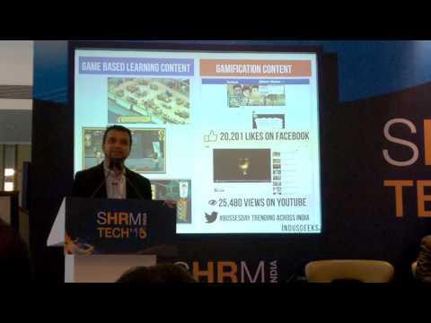Indusgeeks - Sid Banerjee speaks at SHRM Tech 2015