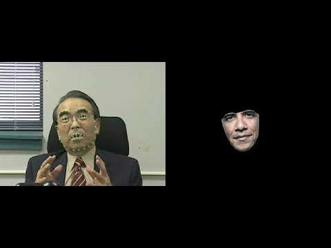 2010 Face Alignment Demo : Takeo Kanade as President Obama