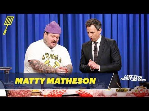 Matty Matheson Teaches Seth How to Make the World's Best Cheeseburger