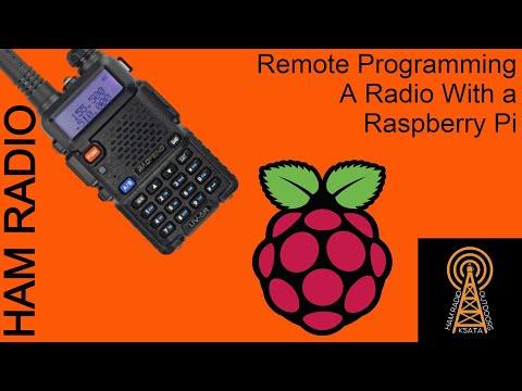 Remote Programming a Radio Using Raspberry Pi and VNC