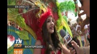 Mazatenango está celebrando el gran carnaval