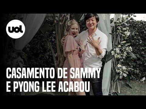 Sammy anuncia fim de casamento com Pyong Lee após flagra na 'Ilha Record'