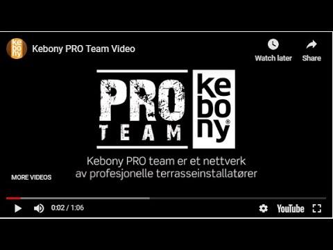 Kebony PRO Team (Dansk)