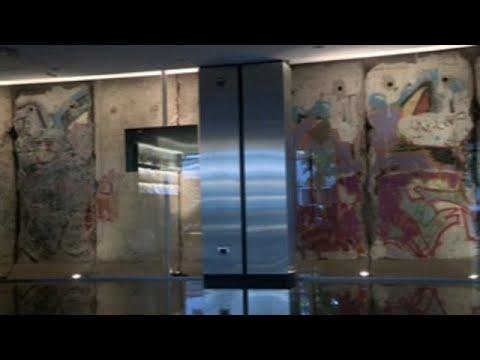 Fragmento argentino del Muro de Berlín: el más grande fuera de Alemania