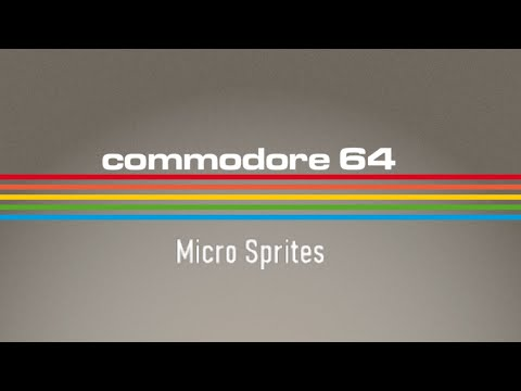 Directitos in the middle of the Night: Micro Sprites - C64 Real 50 Hz
