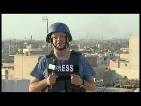 كاميرا الحرة وسط معارك الموصل...