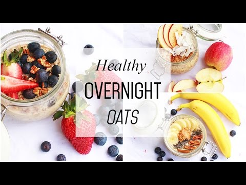 Healthy Breakfast Ideas!! // Overnight Oats // Quick & Easy
