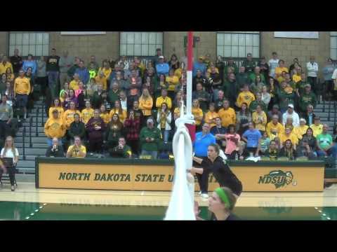 "NCAA Volleyball: ""North Dakota vs North Dakota State"" - Corey Brooks (:30 Seconds)"