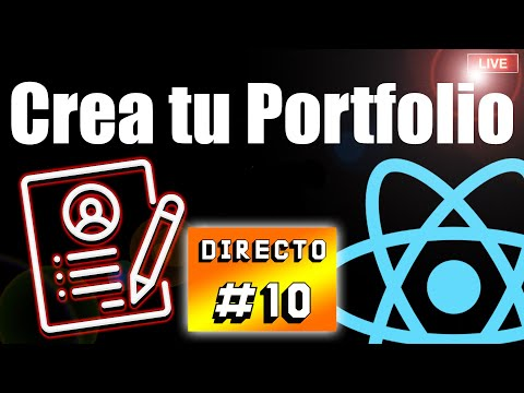 📑 Diseña tu Portfolio con REACT JS ⚛️