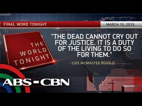 The World Tonight: The Final Word | March 10, 2019