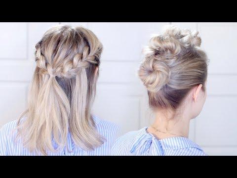 Easy Heatless Hairstyles | Milabu