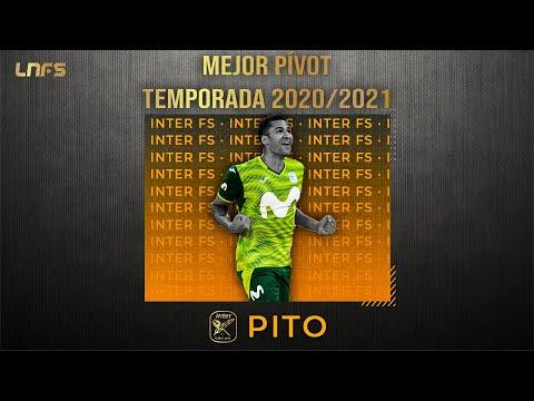 Pito - Trofeo al 'Mejor Pívot' de la Temporada 2020/21