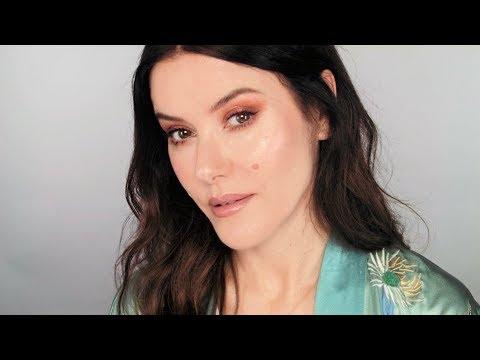 Golden Rosy Makeup Look using Indie Brands