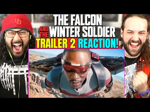 THE FALCON AND THE WINTER SOLDIER   TRAILER #2 REACTION!! (Official Big Game Spot   Super Bowl 2021)