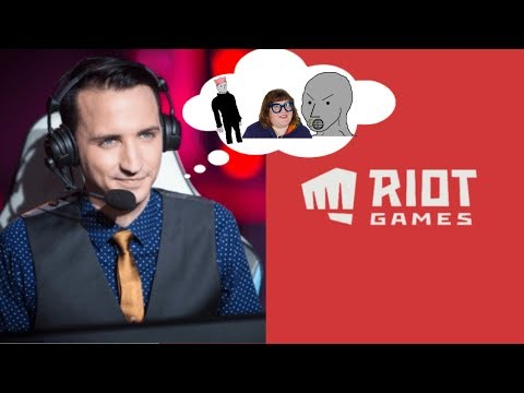 Shockingly Offensive New Riot Games Logo!