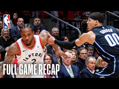 MAGIC vs RAPTORS | Kawhi Leonard?s 37 Points Leads Toronto | Game 2