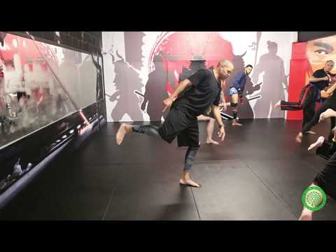 Extreme Kickboxing Kicks - How to Double Kick using a Spin with Raymond Daniels