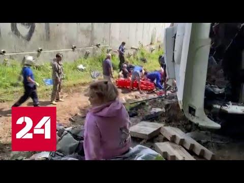 Два человека погибли, двадцать получили травмы: под Краснодаром у автобуса отказали тормоза