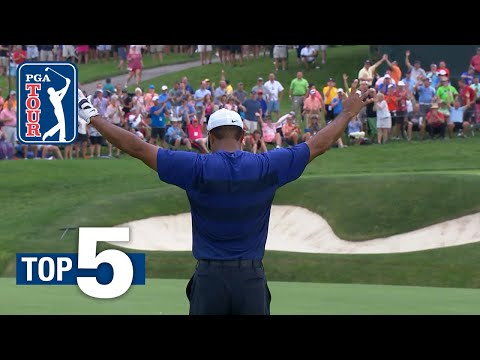 Top 5 Shots of the Week | the Memorial Tournament