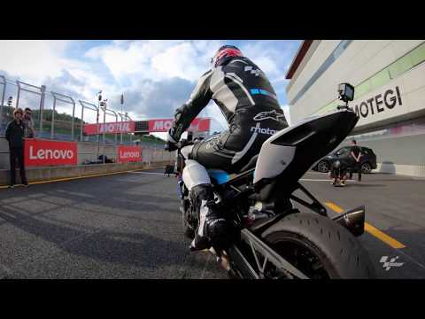 A lap of Twin Ring Motegi with Simon Crafar and GoPro?