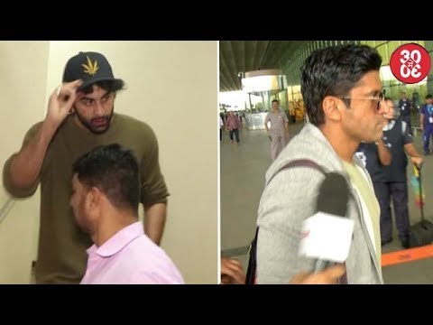 Ranbir Gets Angry On Media | Farhan Avoids Media When Asked About Kapil Dev's Biopic