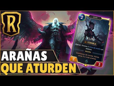 ELISE APOYA AL GENERAL SWAIN   Legends of Runeterra