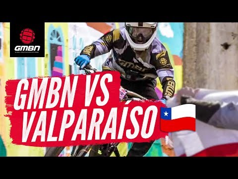 GMBN Vs. The Valparaíso Cerro Abajo | Blake Goes Urban DH Racing