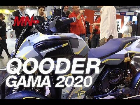 Gama scooter QOODER 2020 - EICMA 2019 [FULLHD]