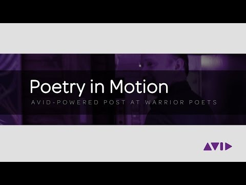 Avid-Powered Post at Warrior Poets
