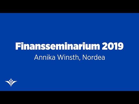 Ekonomisk utblick med chefekonom Annika Winsth