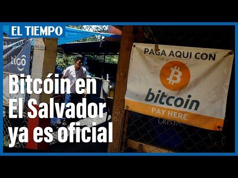 El Salvador adopta oficialmente el bitcóin como moneda oficial