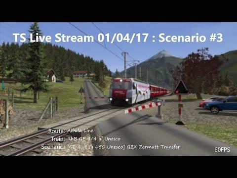[GE 4-4 iii 650 Unesco] GEX Zermatt Transfer (Livestream 01/04/17)