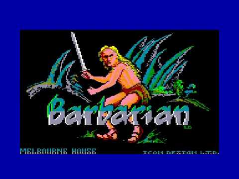The World of Barbarian - Amstrad CPC Longplay