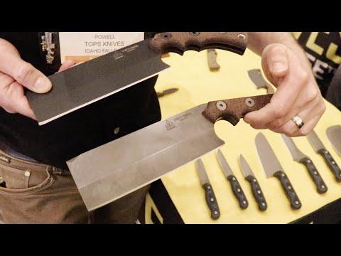 NEW TOPS Knives: SXS, The Nata, Tex Creek, A-Klub, Big Bugger - Shot Show 2019