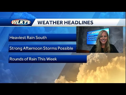 Muggy with Storms Possible