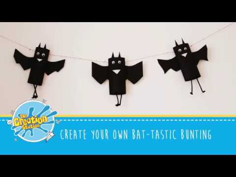 Create your own bat-tastic bunting