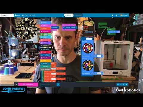 MakeCode Minute: Functions @MSMakeCode @adafruit @johnedgarpark #adafruit