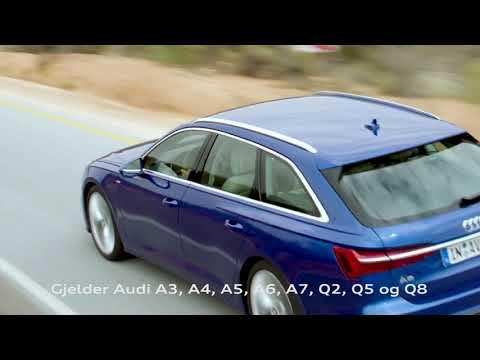 Rentekampanje på Audi A6 og andre utvalgte Audi-modeller