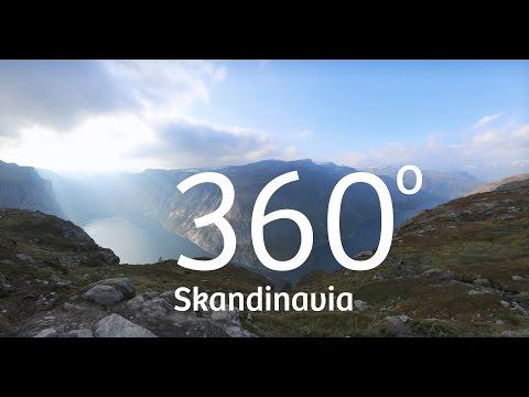 360 graders VR video av Nordens vakre natur | Expedia.no
