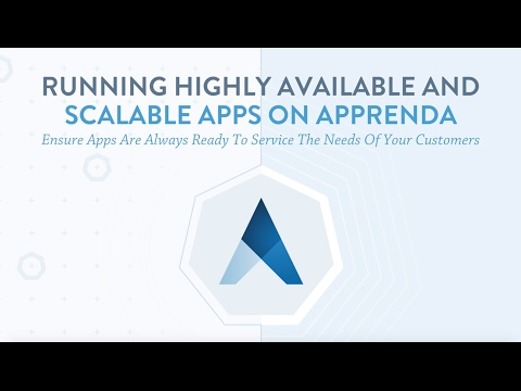 Running Highly Available and Scalable Applications on Apprenda