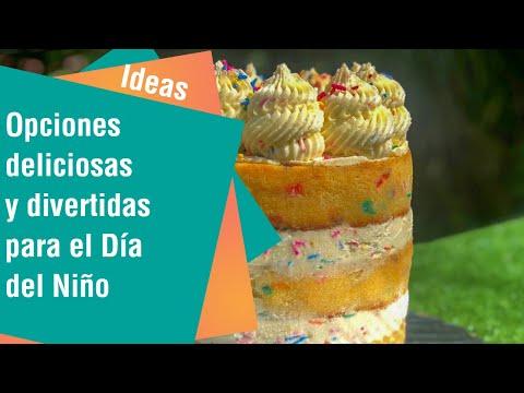 Opciones deliciosas y divertidas para agasajar a los más pequeños en el Día del Niño