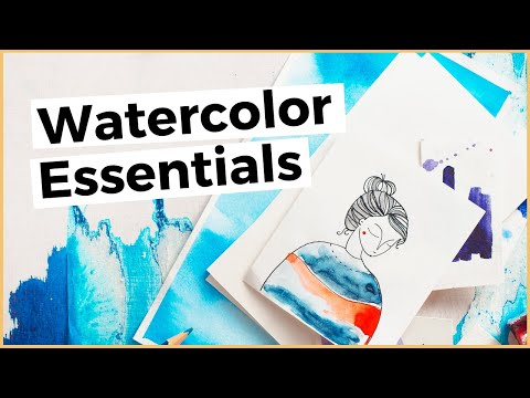 Top 3 Essential Watercolor Supplies You Need To Get Started With Watercolor Painting