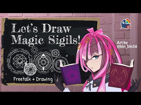 【Freetalk】Let's Draw Magic Sigils【NIJISANJI ID】