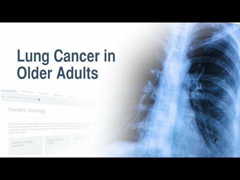 Lung Cancer in Older Adults